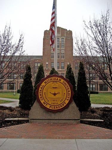 Central Michigan University, Mt. Pleasant, MI #puremichigan