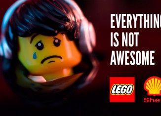 Greenpeace attaca Shell attraverso Lego