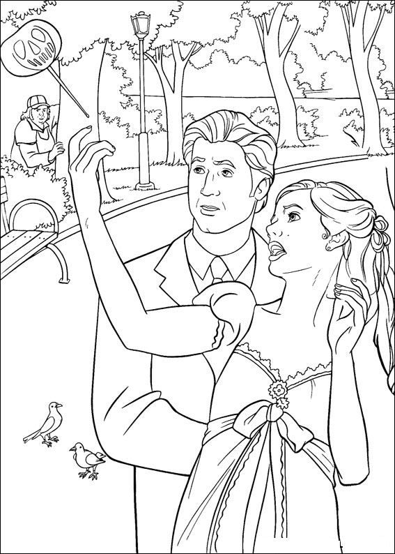 11 best Disney Enchanted Coloring Pages Disney images on Pinterest ...