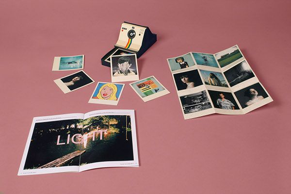 Polaroid Box -Photography/Graphic Design Portfolio on Behance