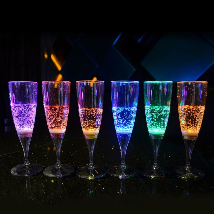 6Pcs Liquid Active Led Champagne Drinking Glass Led Flash Champagne Cup,Led Flash Cups Led Party Glasses Drink Cup For Bars #clothing,#shoes,#jewelry,#women,#men,#hats,#watches,#belts,#fashion,#style