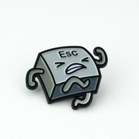 Escape Enamel Pin - Chesty