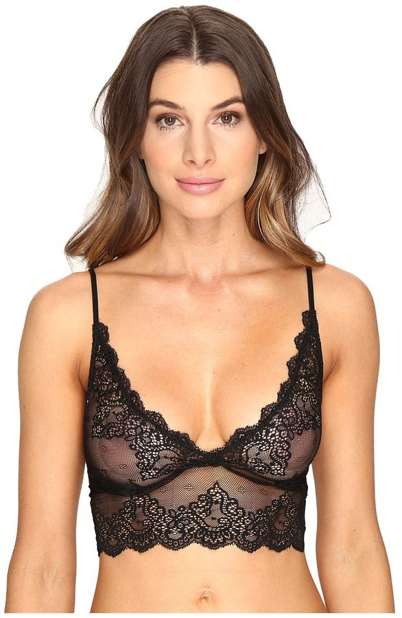 2a0b3dd2888 Only Hearts So Fine Lace Long Line Bralette Women s Bra