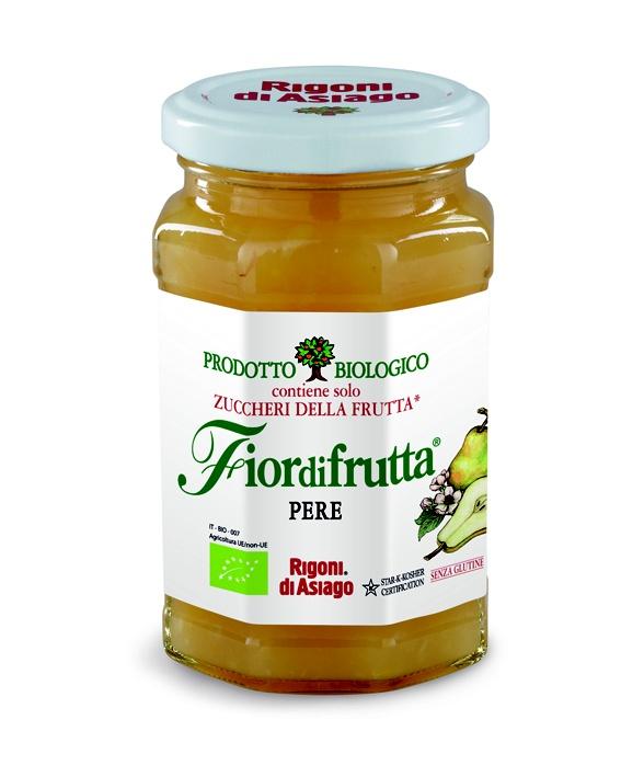 Nuovo arrivo in casa Rigoni, è nata Fiordifrutta alle Pere! Il suo gusto dolce-acidulo e l'aroma moscato la rendono una vera bontà, perfetta da abbinare a formaggi, carni e naturalmente ottima per i vostri dolci!