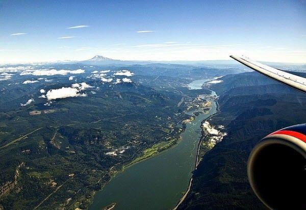 garganta del rio columbia