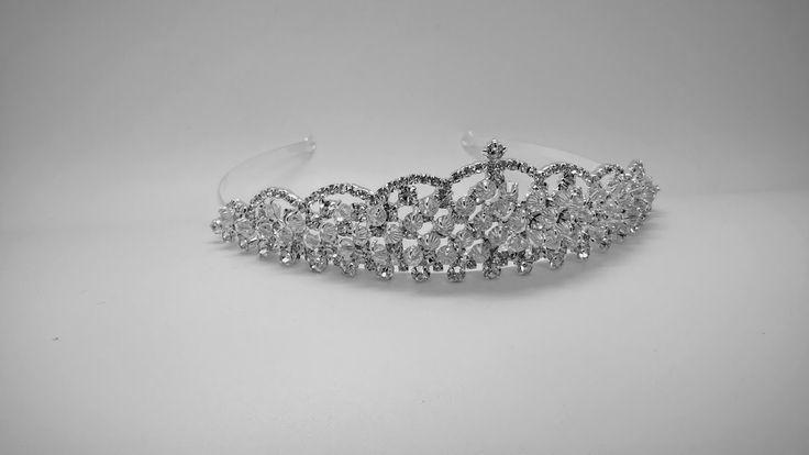 Crystal and Diamante Crystal Bridal Tiara
