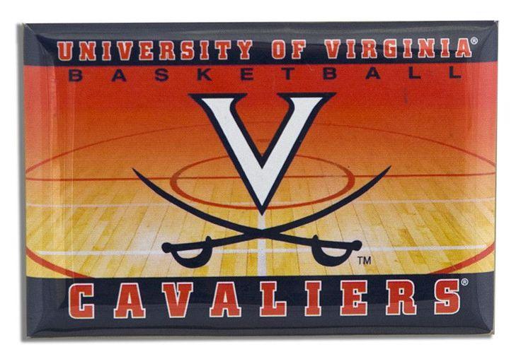 "MGUV06 Magnet 2""x3"" University of Virginia Basketball"