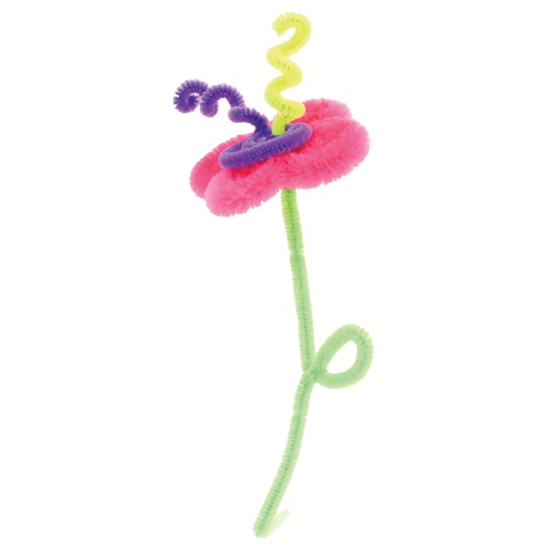 crafts with pipe cleaners for kids | Fat Fuzzies Pipe Cleaner Crafts, Kits For Kids, Kids Art KitsSpiceBox ...