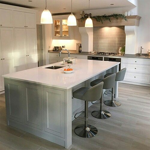 Shaker kitchen kitchen islands dining tables open plan kitchens dining room tables large dining tables