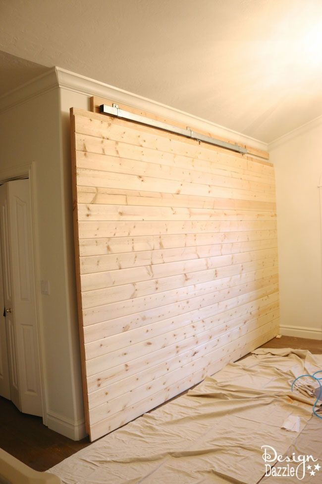 How To Build A Sliding Wall With Images Secret Room Doors