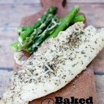 Baked Parmesan Tilapia {Fast & Easy way to cook fish}