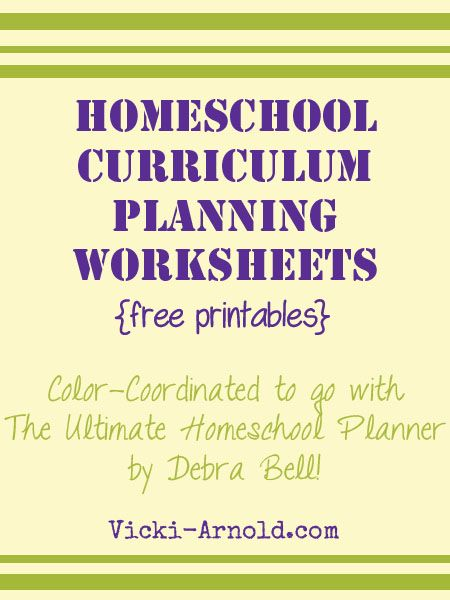 Several awesome printables to help plan your homeschool curriculum. It's that time of year. Are you ready?
