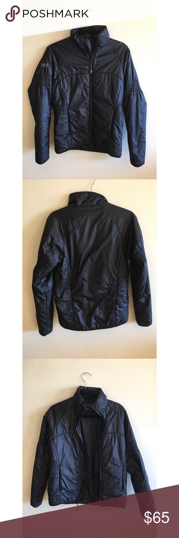 Helly Hansen Jacket Helly Hansen black puffy jacket women's size small. Gently used. Helly Hansen Jackets & Coats Puffers
