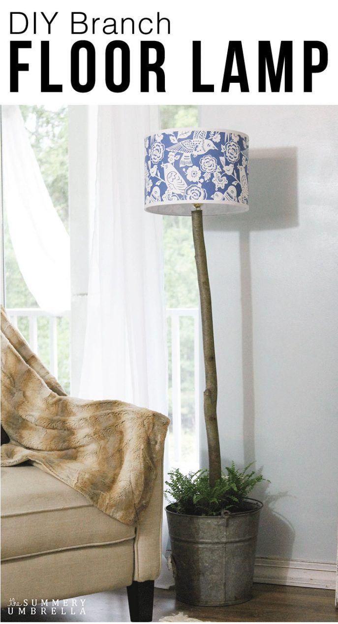 Best 25  Walmart floor lamps ideas on Pinterest | Bedside lamps ... for Diy Floor Lamp Makeover  54lyp