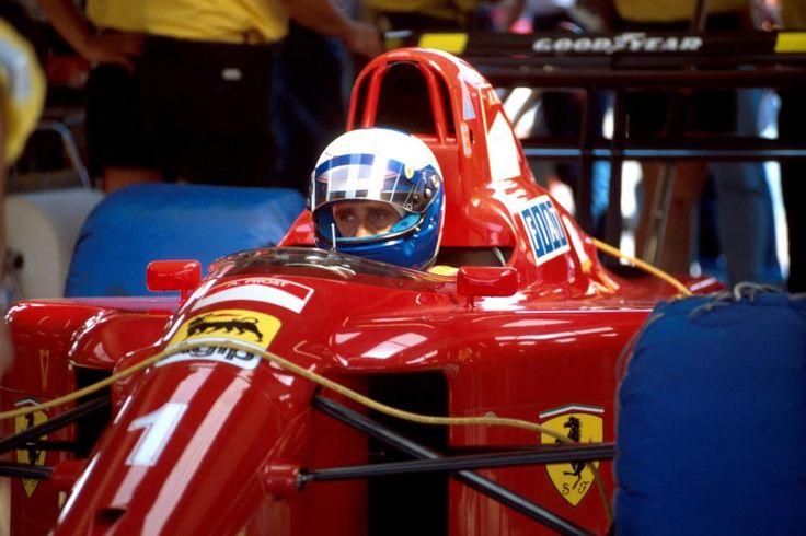 Alain Prost (FERRARI 642/2・FERRARI Tipo 036&037 V12)