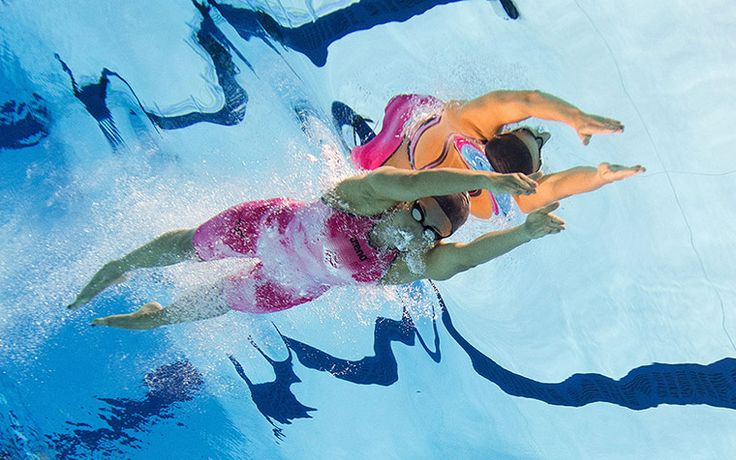 Reflections of swimming: Rebecca Soni of the United States
