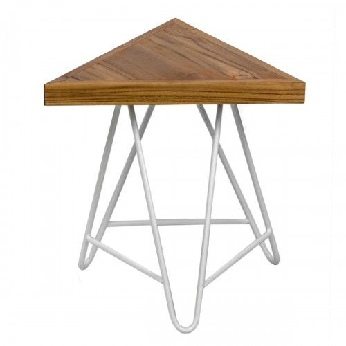 Bonggo   bangku kayu jati desain skandinavia industrial unik interior stool unique interior design furniture