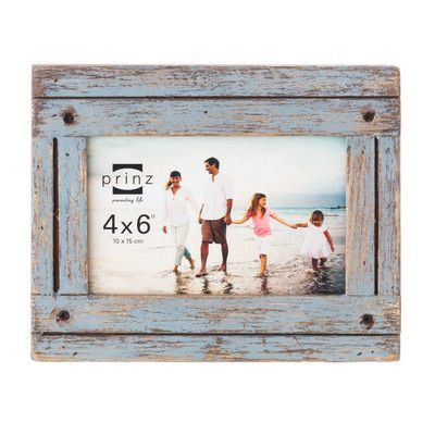 prinz homestead picture frame size 4 x 6 color gray