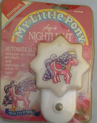 MLP My Little pony Plug In Night Light Micromark  mm9440 Princess Sparkle