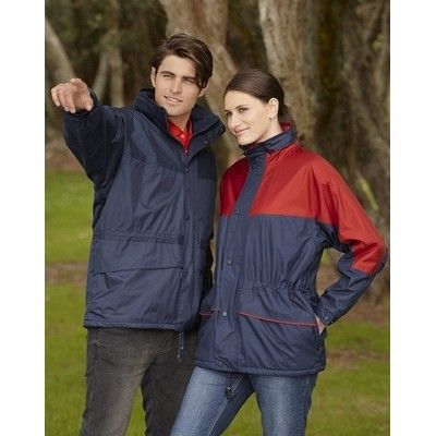 Winter Weight Waterproof Unisex Jacket Min 25 - This jacket is made from 100% poly shell with heat sealed seams on its outside and 100% anti pill micro-fleece lining on the inside. http://www.promosxchange.com.au/winter-weight-waterproof-unisex-jacket/p-11139.html