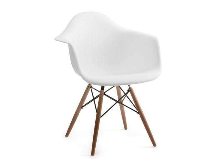 EIFFEL - Wooden armchair - White