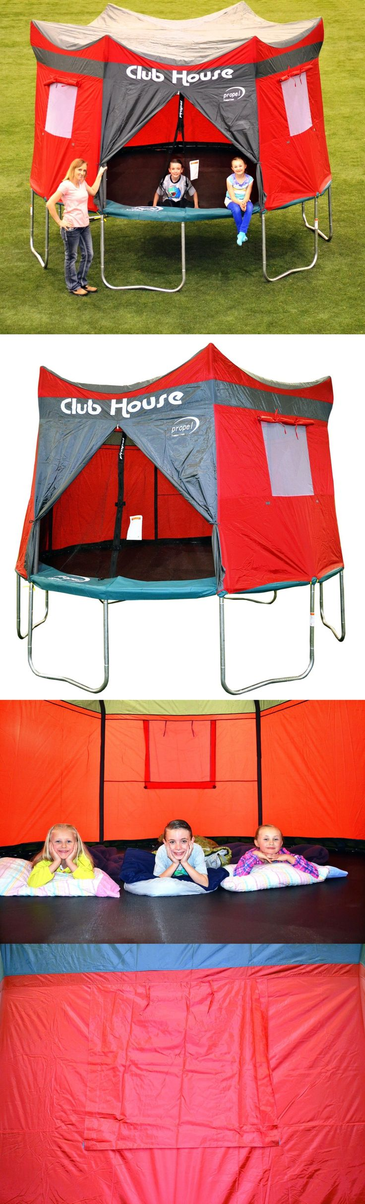 Trampolines 145999: Propel Trampolines 12 Trampoline Clubhouse Tent Accessory Kit Red Fast Shipping -> BUY IT NOW ONLY: $75.75 on eBay!
