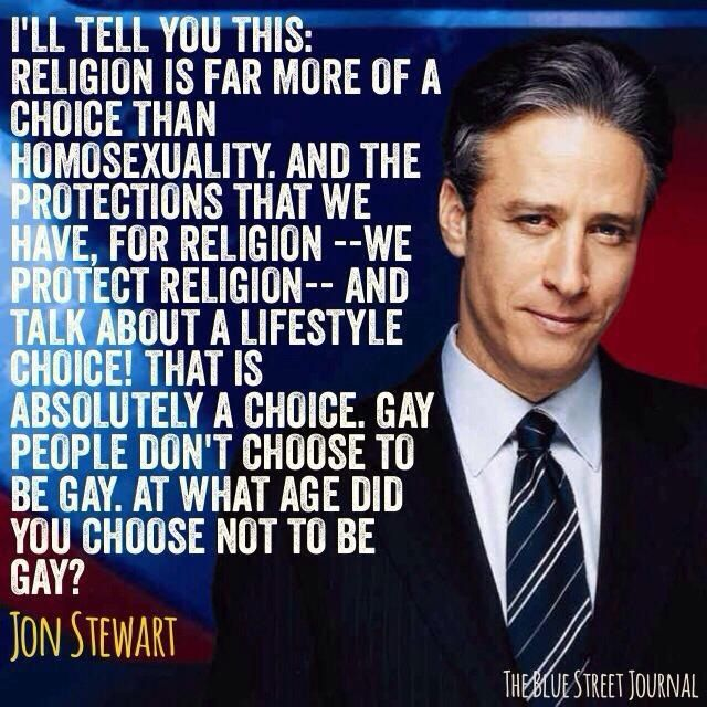 Jon Stewart - every day I love him more.