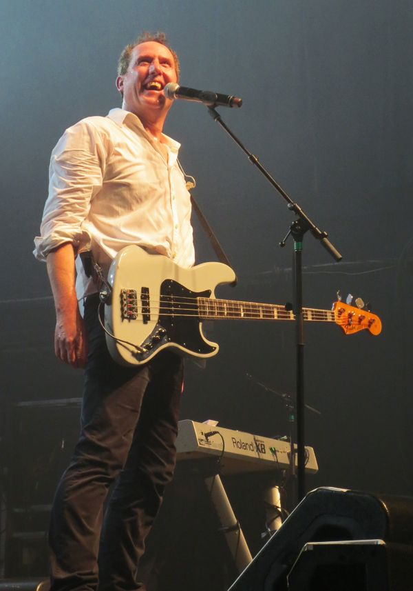 Andy McCluskey of OMD at Terminal 5, NYC.