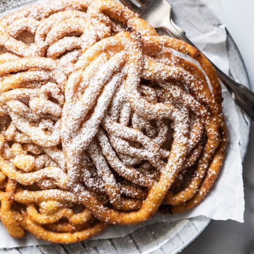 Funnel Cake Recipe Without Baking Powder