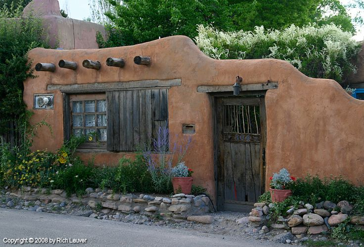 Santa Fe, New Mexico, USA... the architecture was an eye opener for me.
