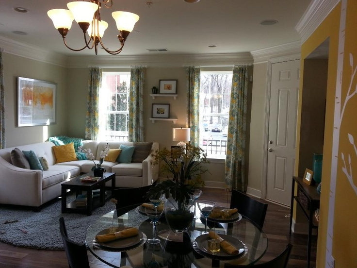 Summit hall yellow and blue living room ideas for jessy pinterest living rooms blue and - Blue and yellow living room ...