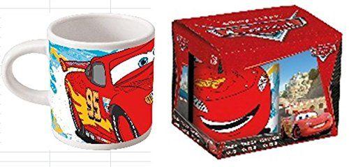 Disney Cars Becher Tasse aus Keramik 200 ml Team 95