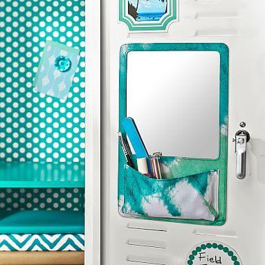 Gear-Up Pool Tie-Dye Locker Mirror Pocket #pbteen