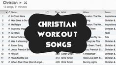 """Christian Workout Songs Good workout music is hard to come by these days. The usual upbeat """"pump up"""" music is filled with curse words and vulgar suggestions. When I am working out, I want to feel uplifted and energized, not disgusted. Here are a few of my favorite Christian workout songs that get me pumped and enc...  Read More at http://www.chelseacrockett.com/wp/teentalk/christian-workout-songs/.  Tags: #ChristianSongs, #ChristianWorkoutMusic, #ChristianWorkoutSong"""