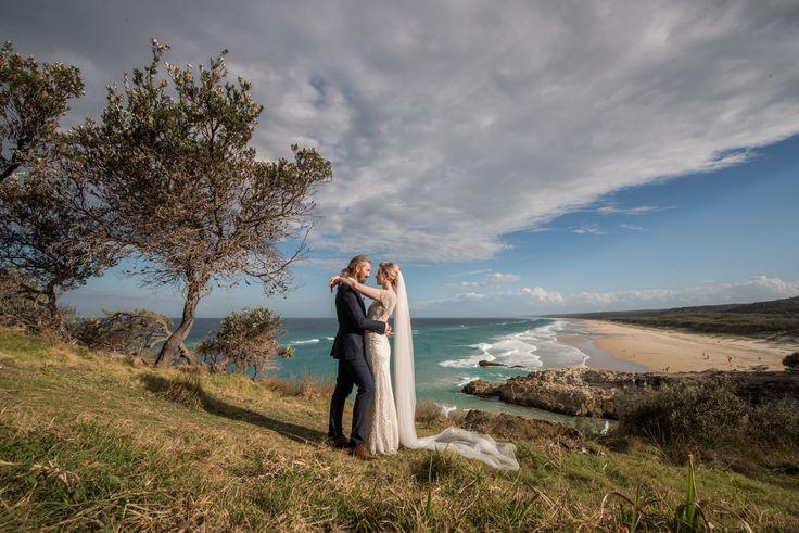 Wow, what an island wedding with a view   North Stradbroke Island stradbrokeislandphotography.com