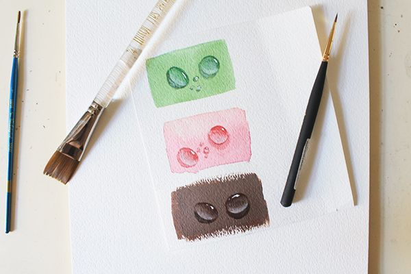Water drops are one of those subjects that seem more difficult and intimidating to paint than they truly are. In reality, they are very simple and rather quick to paint too. Check out this easy-to-follow method you can use to paint them perfectly!