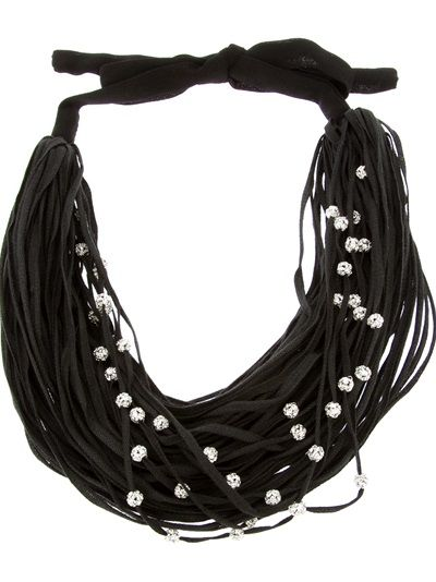 MARIA CALDERARA Embellished Strand Necklace