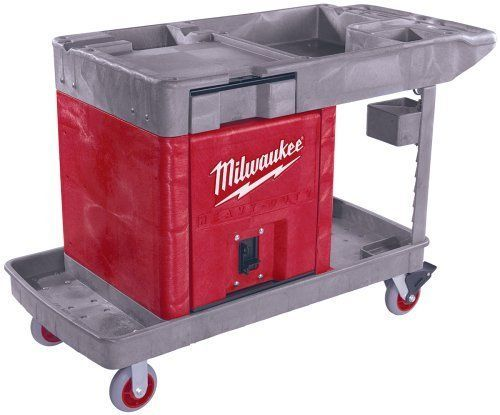 Milwaukee Trade Titan 48-60-5015 Industrial Work Cart with Locking Cabinet #Milwaukee