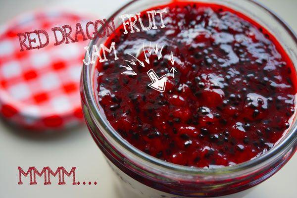 Dragon Fruit Jam Recipe