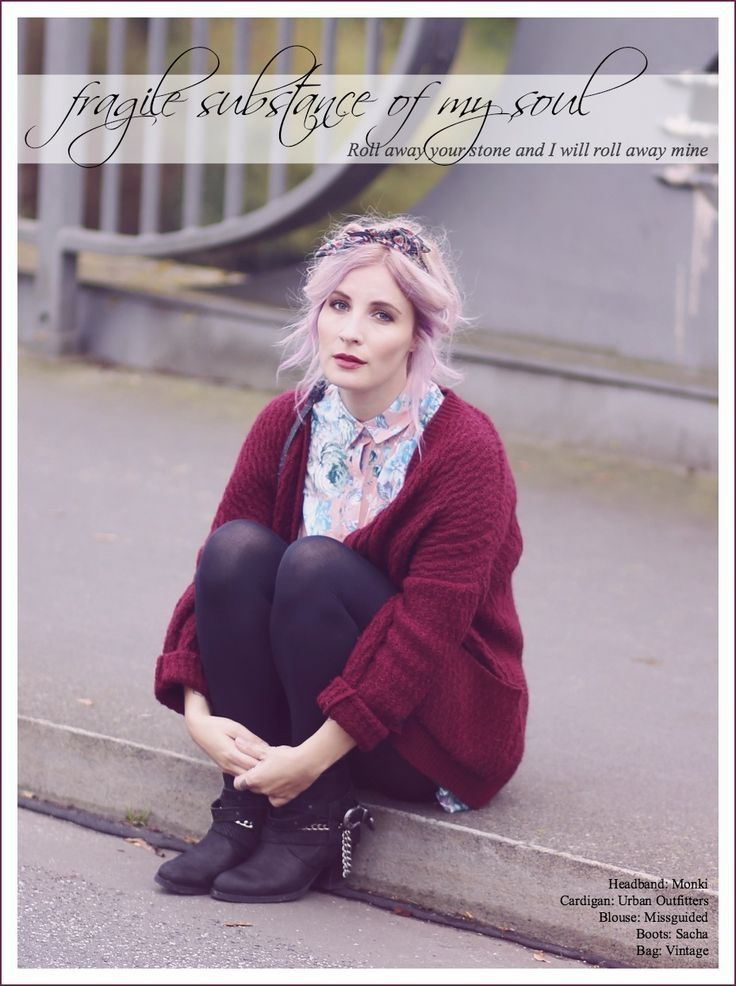 Strickjacke in Herbstfarben, burgunderfarbene Strickjacke, Burgunder kombinieren, herbstlicher Look, Fashion Blog