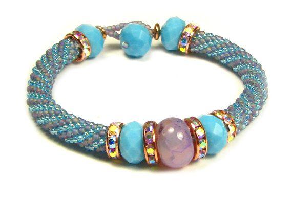 Etherea Bead Crochet Bracelet Kit by Ann Benson