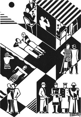 During an artistic career spanning 50 years, the German artist Gerd Arntz (1900-1988) has continually criticized social inequality, exploitation and war in clear-cut prints – activism with artistic means.