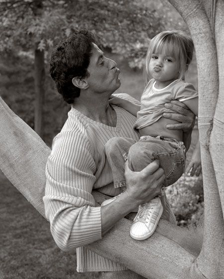 Sylvester Stallone & his daughter