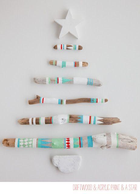 Árboles de Navidad hechos con palets - Deco & Living