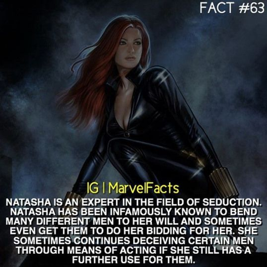Marvel Facts Marvelcomics Dc Comics Facts Black Widow