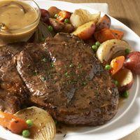 Classic Beef Pot Roast with Root Vegetables (use boneless beef chuck shoulder, arm or blade pot roast) -Fareway
