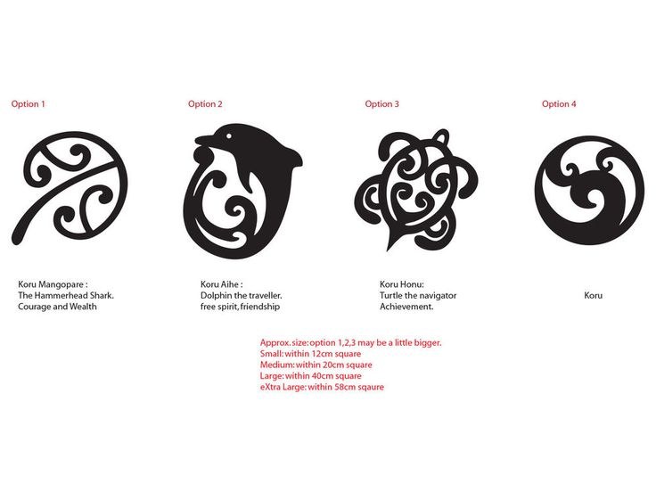 Maori Koru Mangopare Honu Aihe NZ Kiwi Symbol car Tattoo Decal Vinyl Sticker  in Vehicle Parts & Accessories, Car, Truck Parts, Decals, Badges, Detailing | eBay!