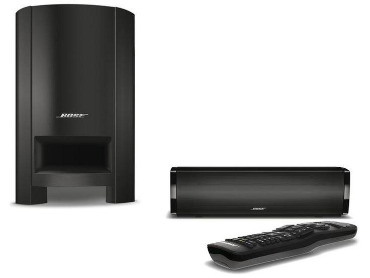 Le système d'enceintes Home-Cinéma Bose CineMate 15 est composé d'une barre sonore ultra compacte survitaminée aux technologies propriétaires, et d'un module Acoustimass chargé de délivrer un grave percutant. |  #Bose #Cinemate15 #HomeCinema #Speaker #Subwoofer