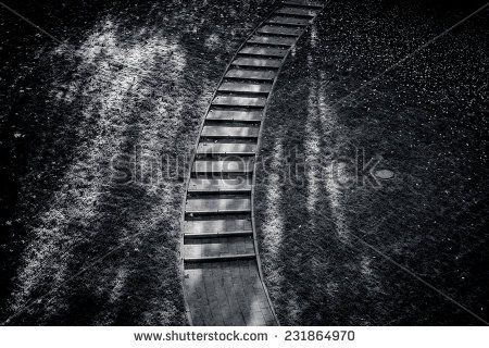 Stairs In A Garden In Autumn Stock Photo 231864970 : Shutterstock