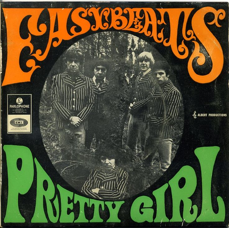 easybeats : pretty girl : 1967